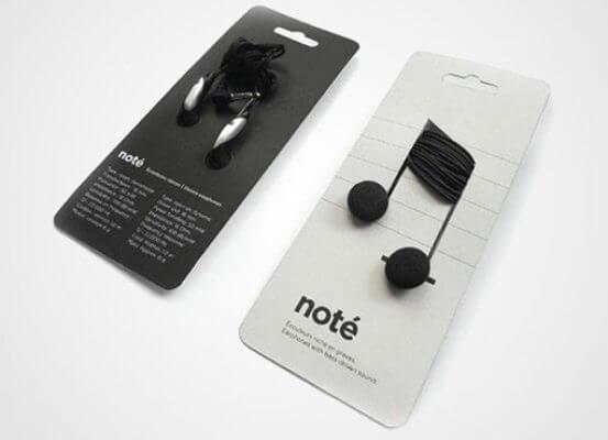 el diseño del packaging_auriculares