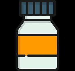 envasado de vitaminas