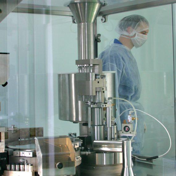 mantenimiento en la maquinaria de envasado