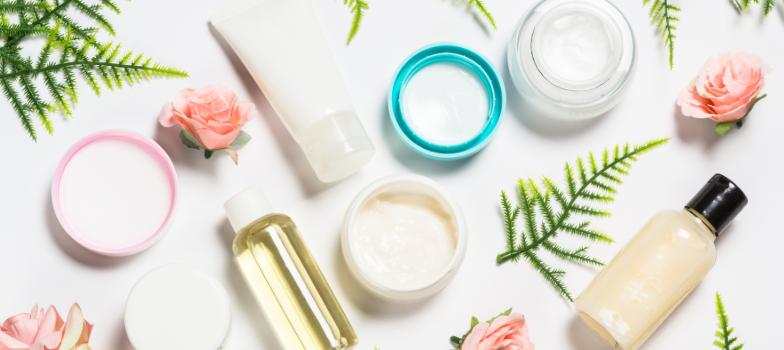 Envase de cosmetica bio con materiales reciclable